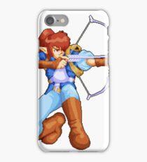 Alundra shooting bow pixelart iPhone Case/Skin