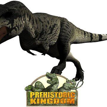 Prehistoric Kingdom T-Rex Female by prehistoricking
