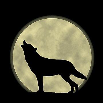 Howling Wolf by izmet