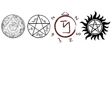 Supernatural Protection (Dark Symbols) by fixedinpost