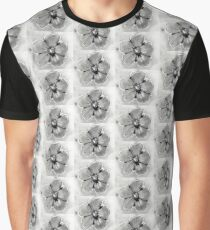 Artisan Flower Sketch Print 4 Graphic T-Shirt