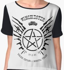 Winchester Coat of Arms Chiffon Top
