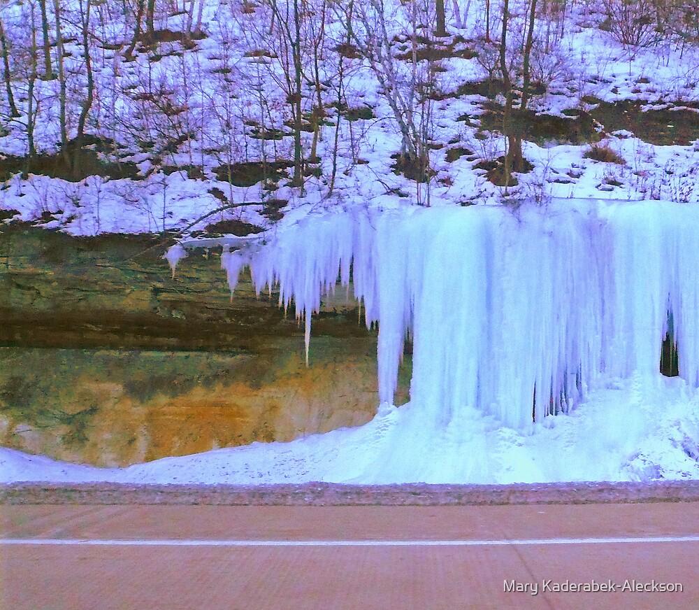 Ice Fall  by Mary Kaderabek-Aleckson