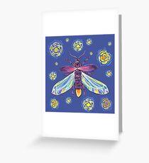 Firefly Greeting Card