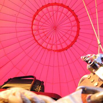 Inside a Hot Air Ballon by kateilles
