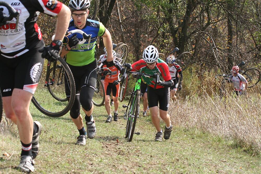 Matt Kelso race grinding up hill by eddyf246