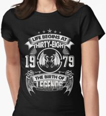 Born In 1979 Womens Fitted T-Shirt