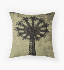 Bare Bones Parachute Throw Pillow