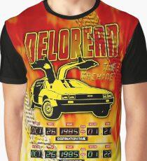 Delorean Time Machine Graphic T-Shirt