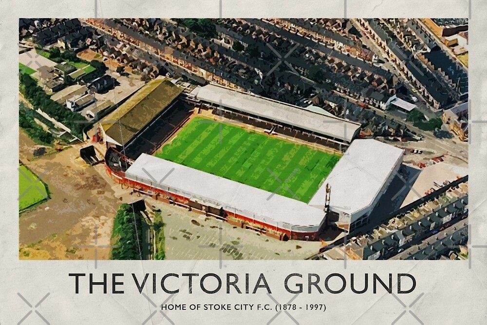 Vintage Football Grounds - The Victoria Ground (Stoke City FC) by twelfthman