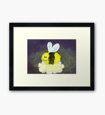The Big Book of George - Bee  Framed Print