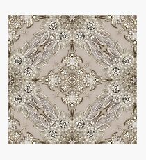 vintage Rhinestone lace pearl glamorous great gatsby Photographic Print