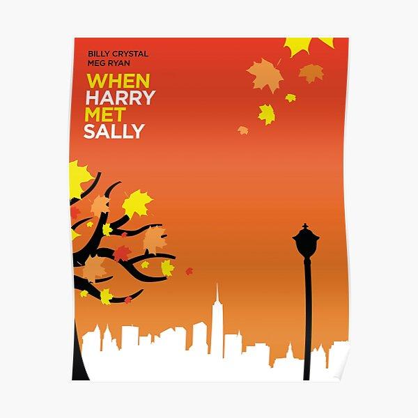 When Harry Met Sally // Minimalist Art Poster