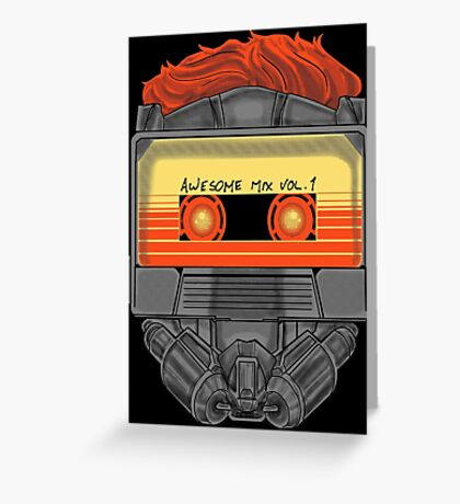 Awesome Mask Volume 1 Greeting Card