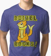 Buizel Rocks! Tri-blend T-Shirt
