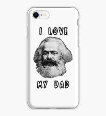 I Love My Dad Karl Marx iPhone Case/Skin