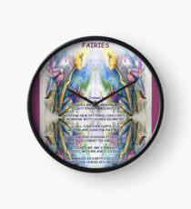 Fairies Clock