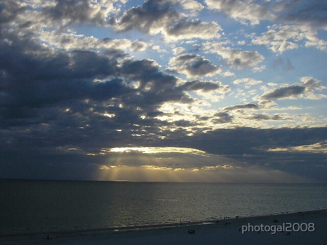 Sunset before  Storm by photogal2008