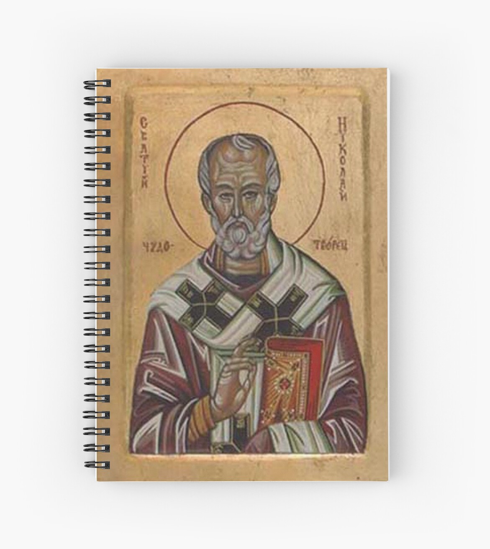 Saint Nicholas by Ivana Vuckovic