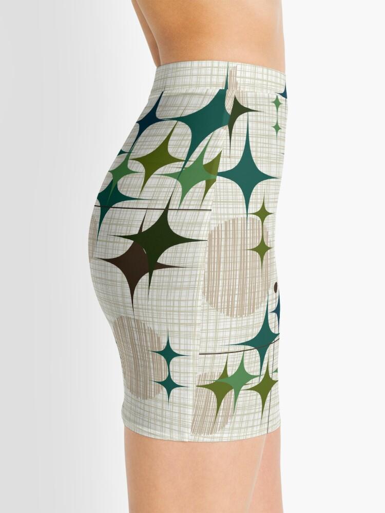 Alternate view of Eames Era Starbursts and Globes 1 (bkgrnd) Mini Skirt