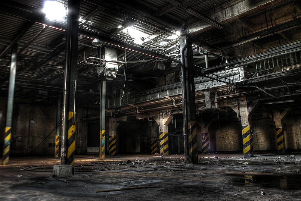 Beware of the pillars by Richard Shepherd