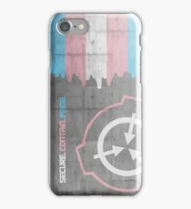 Transgender SCPride iPhone Case/Skin