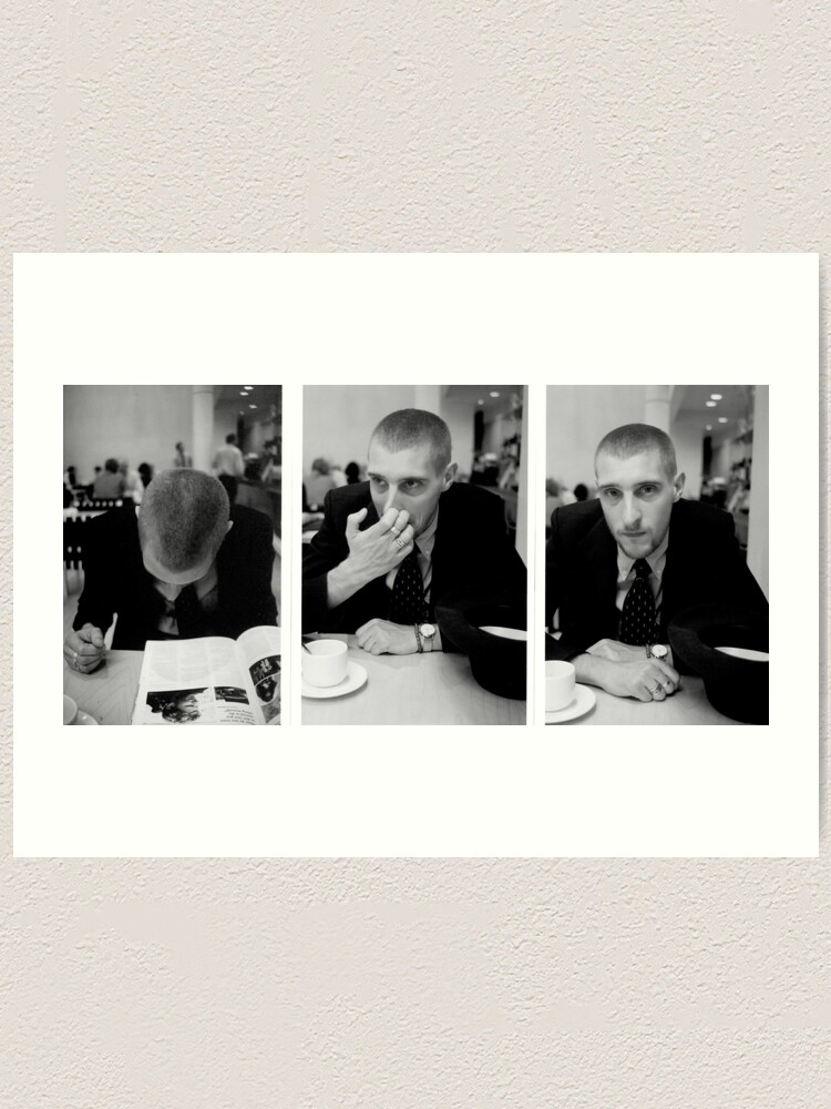 Alternate view of David Muyllaert Actor in the National Gallery Cafeteria Art Print