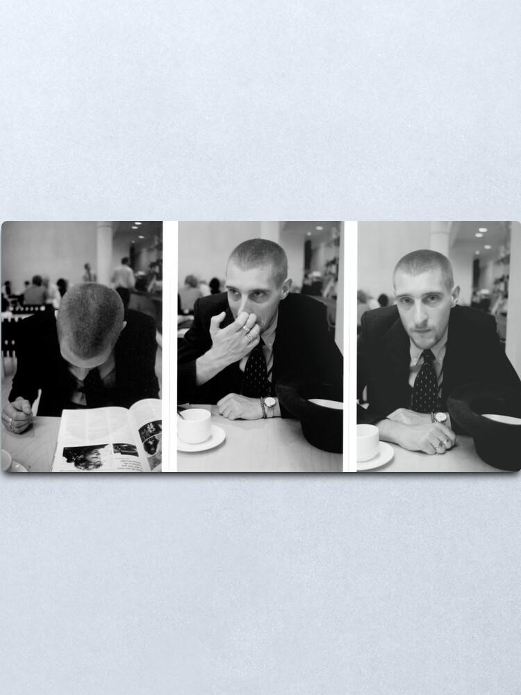 Alternate view of David Muyllaert Actor in the National Gallery Cafeteria Metal Print
