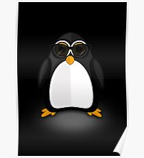 Cool Penguin Poster