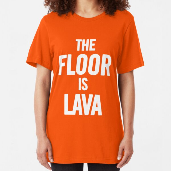 The Floor is Lava Melting Game Sweatshirt