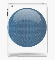 blue ball iPad Case/Skin