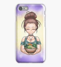Glow Bowl Goddess (Version 1) iPhone Case/Skin