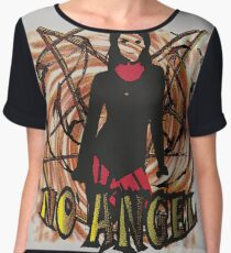 No angel Dirty Chiffon Top
