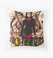 No angel Dirty Throw Pillow