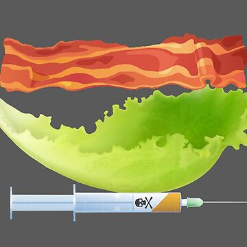 Bacon, Lettuce, and Testosterone by EmpireGraphics