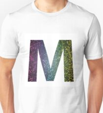 letter M of different colors Unisex T-Shirt