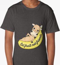 EAT FRUIT NOT FRIENDS Long T-Shirt