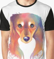 Rainbow series : Dachshund Graphic T-Shirt