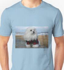Snowdrop, the Maltese T-Shirt