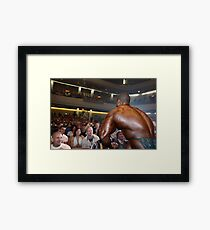Muscle Show #1 Framed Print