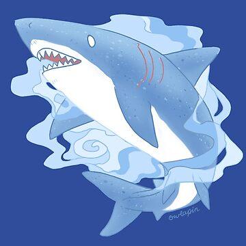 Tiburón fantasma de owlapin