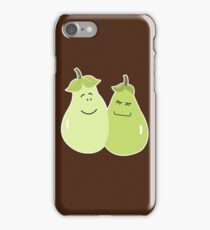 A Perfect Pear Wedding Couple Bride and Groom iPhone Case/Skin