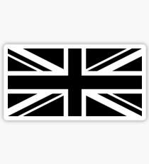 Union Jack - B&W Sticker
