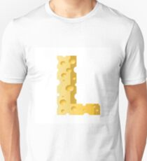 cheese letter L T-Shirt