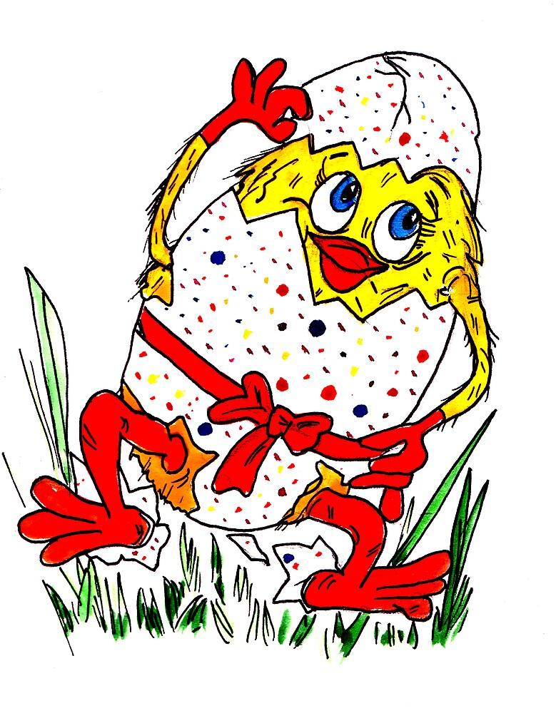 Cute Easter Card! by kpbundu
