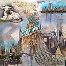 Genesis Fanart The Lamb Lies Down On Broadway by Frank Grabowski von Frank Grabowski