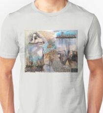 Genesis Fanart The Lamb Lies Down On Broadway by Frank Grabowski T-Shirt