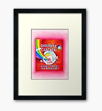 Diversity Catcher  Framed Print