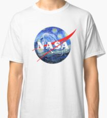 Starry NASA  Classic T-Shirt