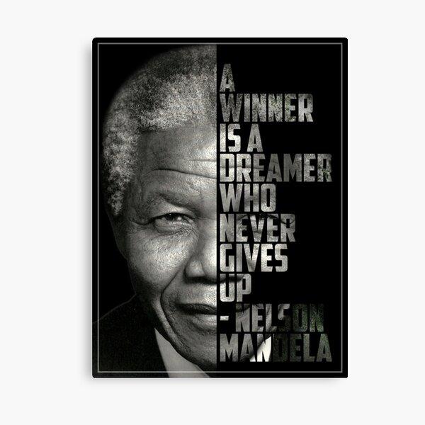 OBAMA HOPE INSPIRED NELSON MANDELA PHOTO PRINT POSTER GIFT
